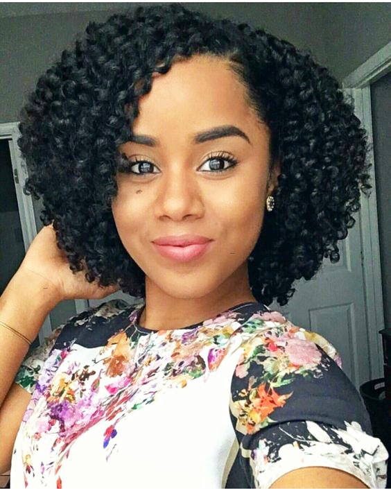 +18 Natural Hairstyle Ideas for African Short Hair 2018 - 2019 2