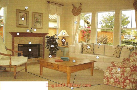 Living room- Housing – Photo Dictionary