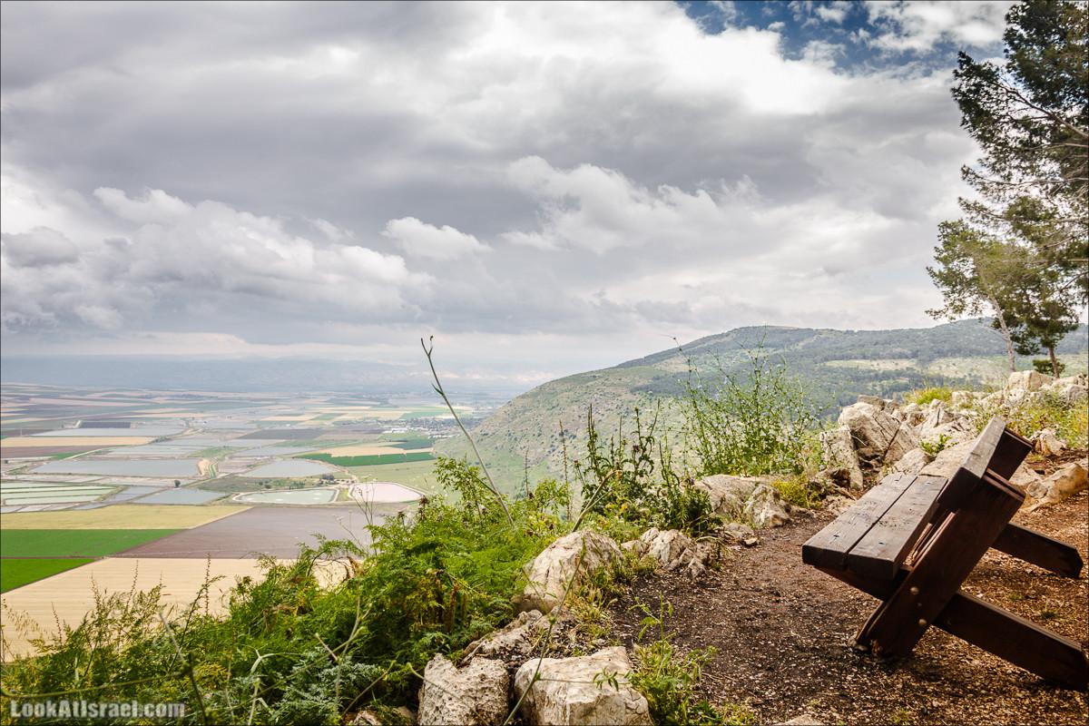 Умопомрачительные пейзажи с горы Гильбоа   Mt Gilboa   LookAtIsrael.com - Фото путешествия по Израилю