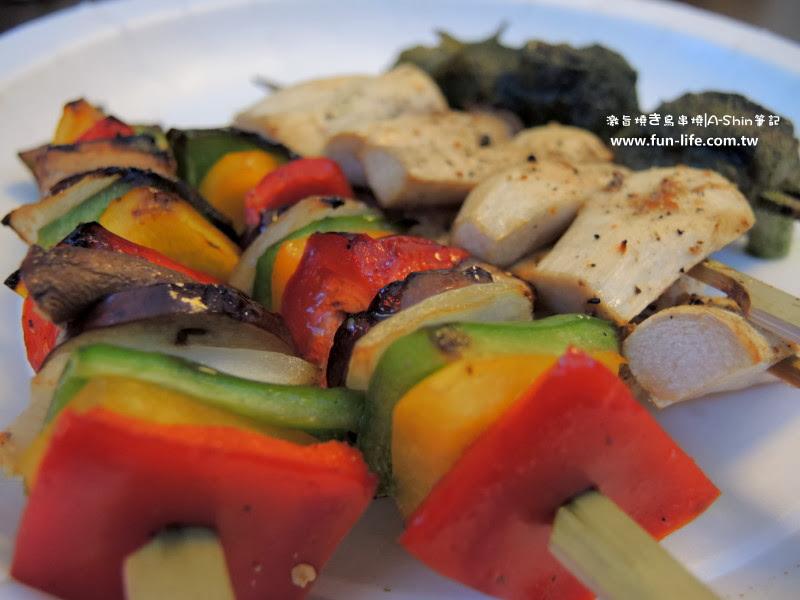 激旨燒鳥串燒的蔬菜串