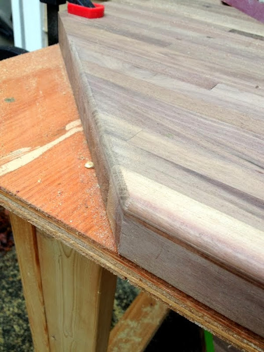 How to Smooth Countertop Edges with a Router