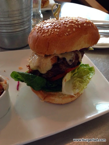All Bar One BBQ Pulled Pork and Handmade Beef Burger