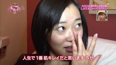 指原莉乃(さっしー)すっぴん画像その6