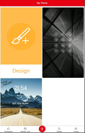 trik desain lockscreen smartphone android