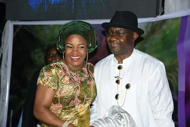 Wike's Wife Justice Suzzete & Senator Abe Meet At OCJ Okocha's Daughter's Wedding(Pics)