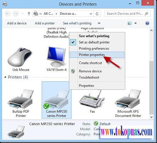 cara menggunakan wireless printer