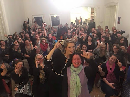 Carly Findlay, Tara Moss and Dumbo Feather audience