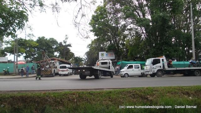 Parqueadero de Secretaría de Movilidad, Fontibón