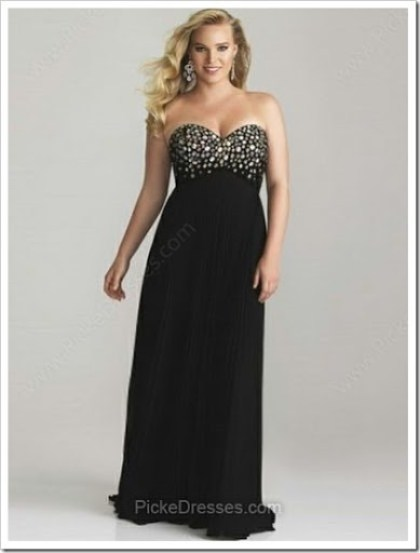 empiresweetheartProm Dress Plus Size