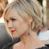 short hairstyles for round faces 2015 2016