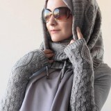 trendy casual winter hijab fashion 2016