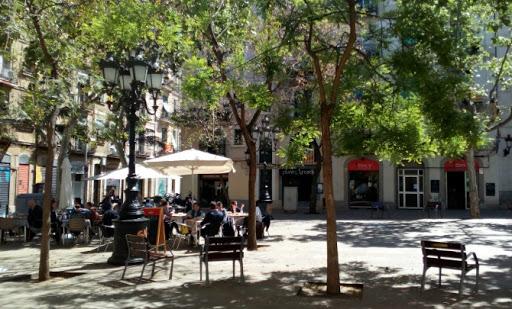 La plaza de Osca