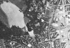 Luftaufnahme des Waldstraßenviertels aus dem Jahr 1953 - Nordost