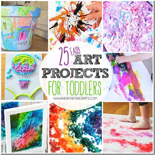Young Toddler Art Projects