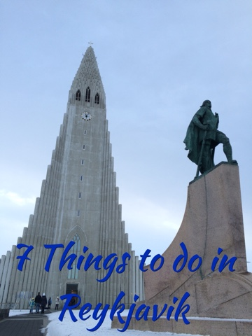 7 things to do in Reykjavik