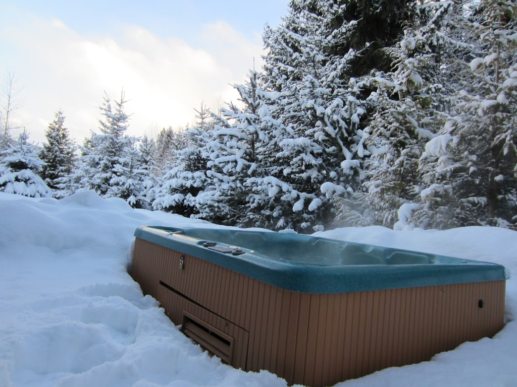 Private Hot Tub at Whistler Montebello Luxury Rental