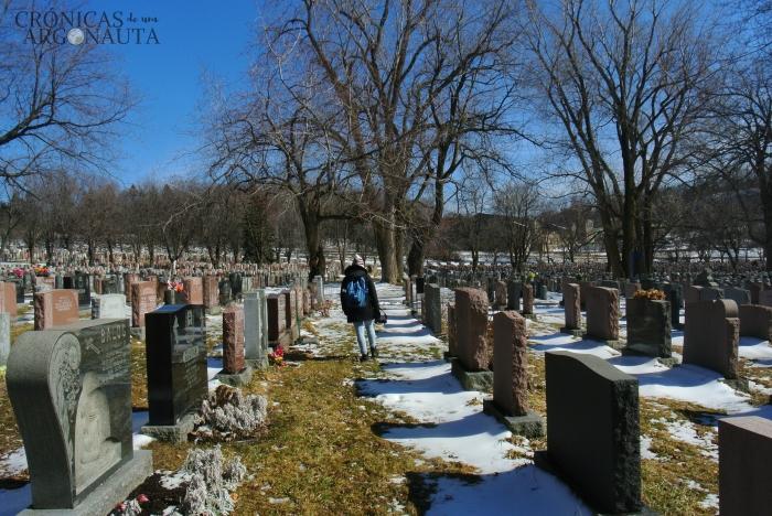 Cementerio de Notre Dame en Montreal