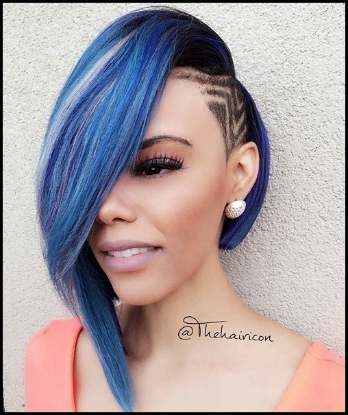 2018 Beautiful African American Natural Hairstyles For Black Women 2
