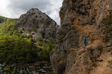 First day climbing in Olympos, looking good!