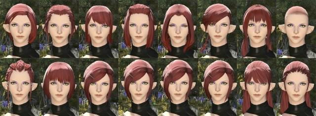 Elezen Female Hair