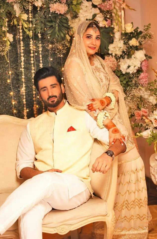Hina Altaf and Aagha Ali Got Married in a secret Nikkah Ceremony