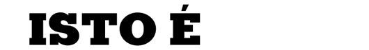 Kaine font logo revista ISTO É