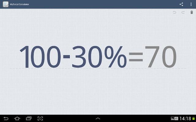 #MyScript©計算機:以手寫方式來解數學方程式 (Android App) 4