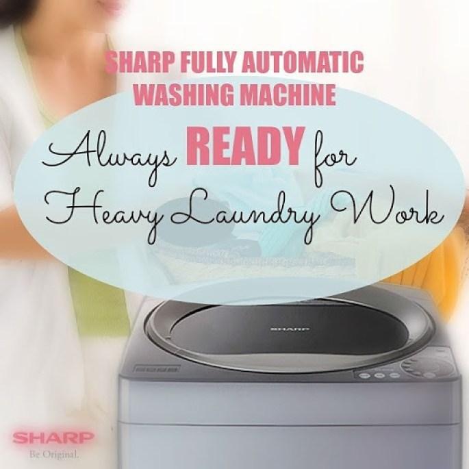 Sharp Fully Auto Washing Machine