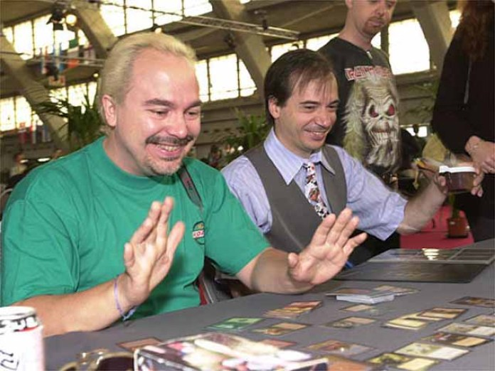 Peter Adkison e Richard Garfield