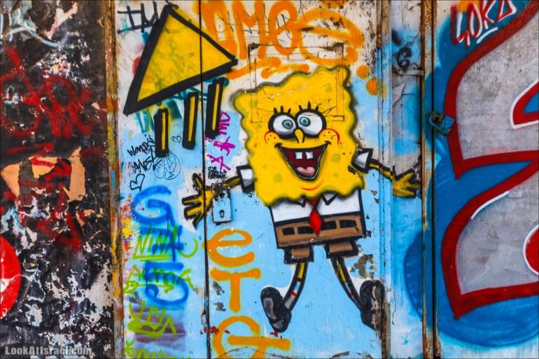 Граффити Тель Авива | Tel Aviv street art | LookAtIsrael.com - Фото путешествия по Израилю