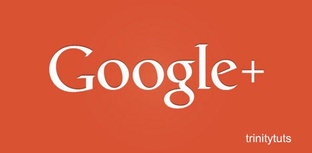 Google plus signin