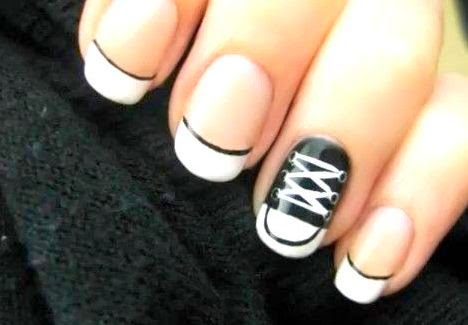 Black and White Nail Art  35 Beautiful Black & White Nail Art Designs and Ideas 2017 Black 2520and 2520White 2520Nail 2520Art 2520Designs 252018