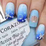 trendy nail art for summer 2016