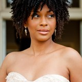 wedding afro hairstyles 2017 for black women