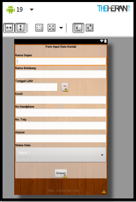 Desain Interface
