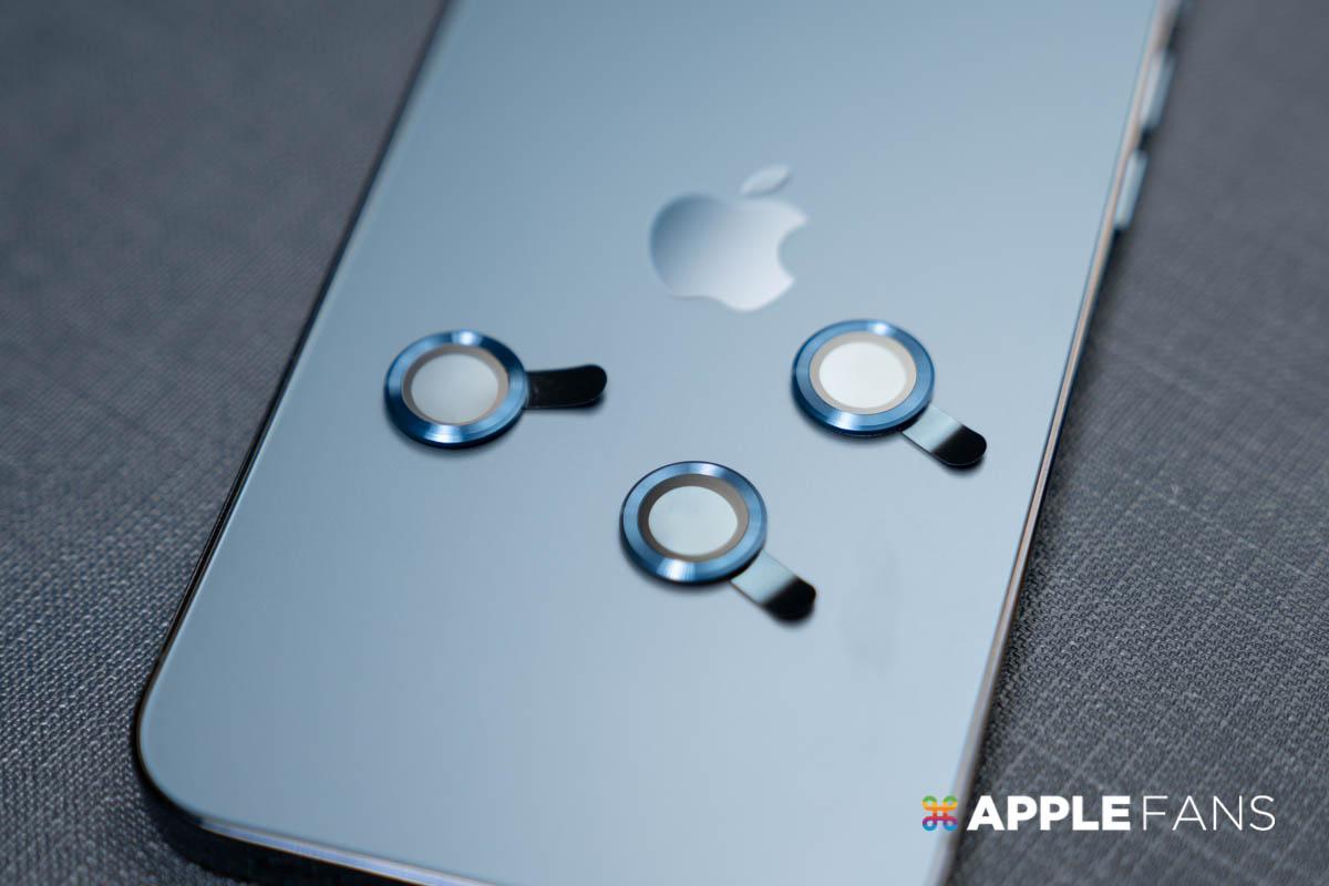 iPhone 12 Pro 鏡頭貼 Simmpo 鏡頭貼 科技藍