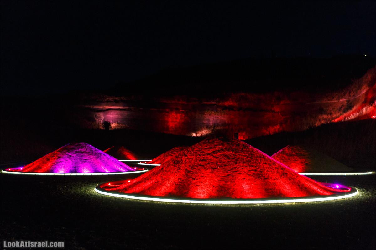 Вулканический парк на Голанских высотах | Volcani park | פארק וולקני אביטל | LookAtIsrael.com - Фото путешествия по Израилю