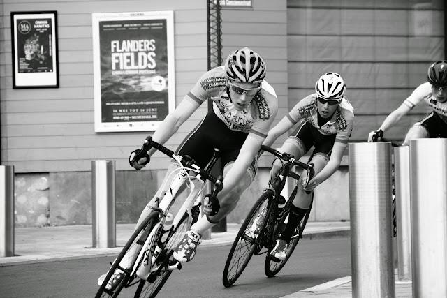 Thomas Vansteelandt en Cériel Desal in de 20e GP Hostekint