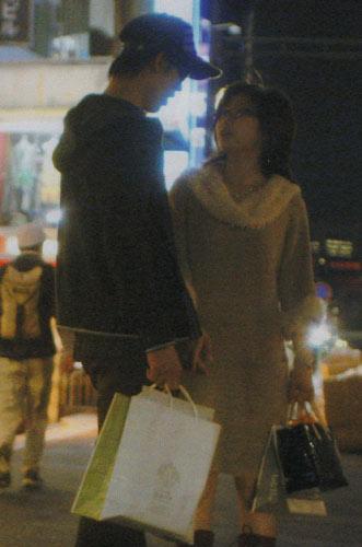 錦織圭と福原愛の原宿デート画像(路上キス)