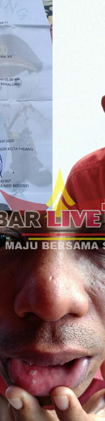 Salah Tangkap Korban dan Korban Melapor ke Polresta Padang