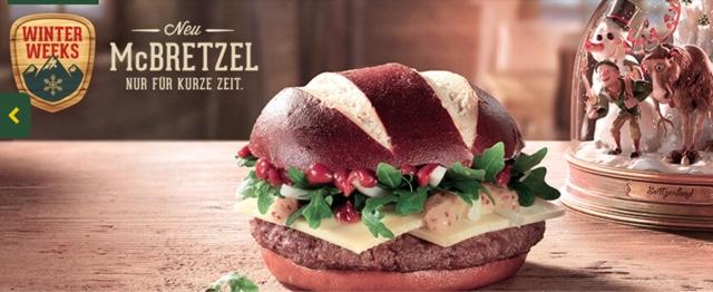McDonald's McBretzel