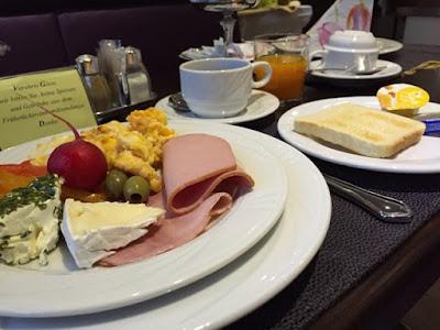ドイツのとあるホテルの朝食