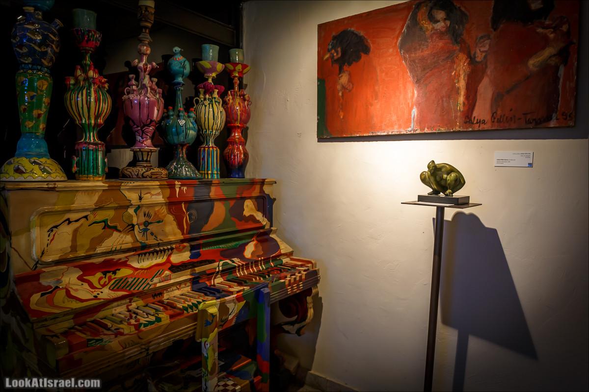 Дом-музей Иланы Гур в Яффо | Ilana Gur museum in Jaffa | מוזאון אילנה גור ביפו | LookAtIsrael.com - Фото путешествия по Израилю