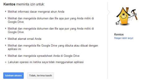 Ijin Backup Data WordPress Blog ke Google Drive