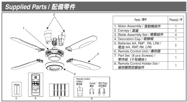 How to install kdk ceiling fan boatylicious kdk ceiling fan power consumption hbm blog asfbconference2016 Images