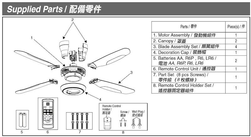hunter ceiling fan user manual