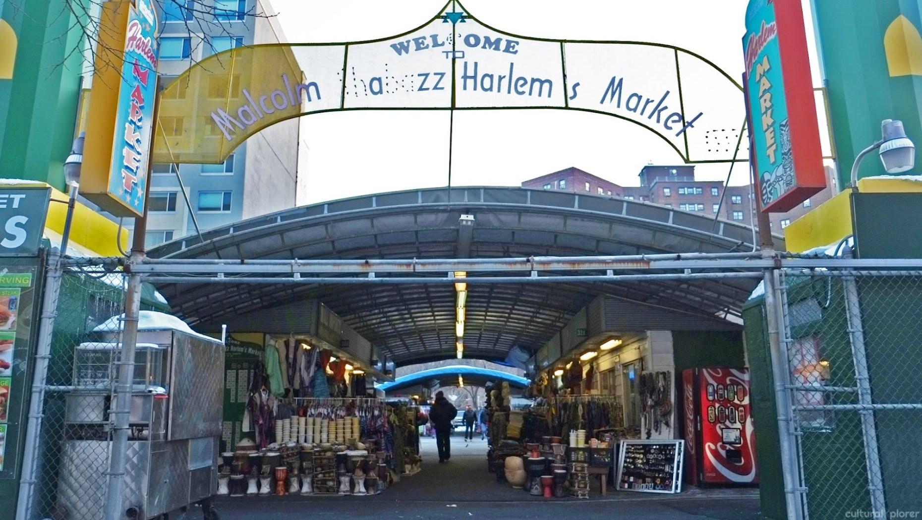 Malcolm Shabazz Harlem Market