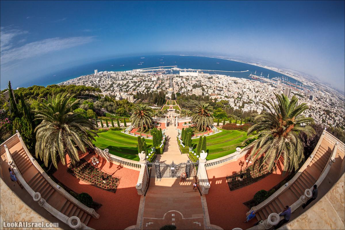 Хайфуем. Виды Хайфы с высоты   Haifa landscapes   LookAtIsrael.com - Фото путешествия по Израилю
