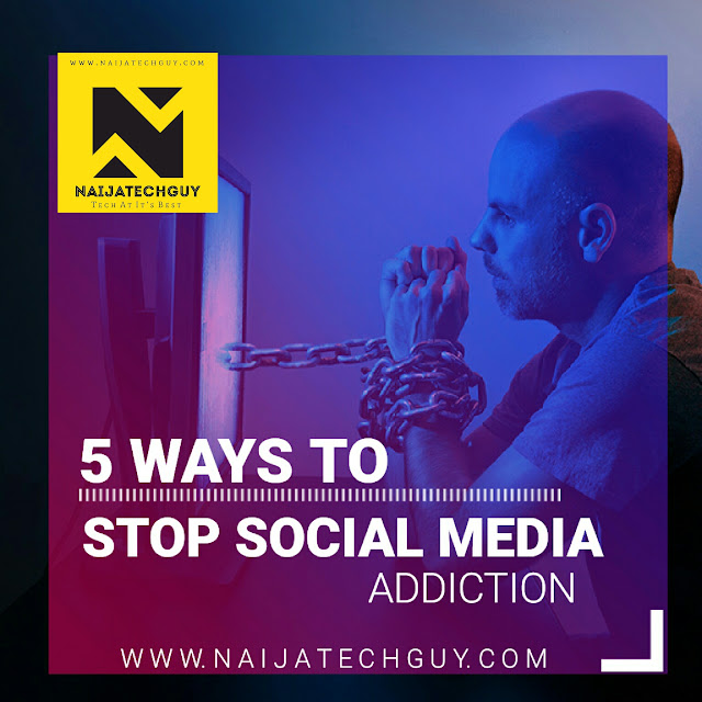 5 Ways To Stop Social Media  Addiction 1