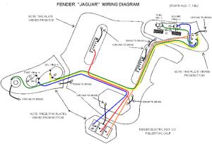 jaguar wiring diagram help  OffsetGuitars